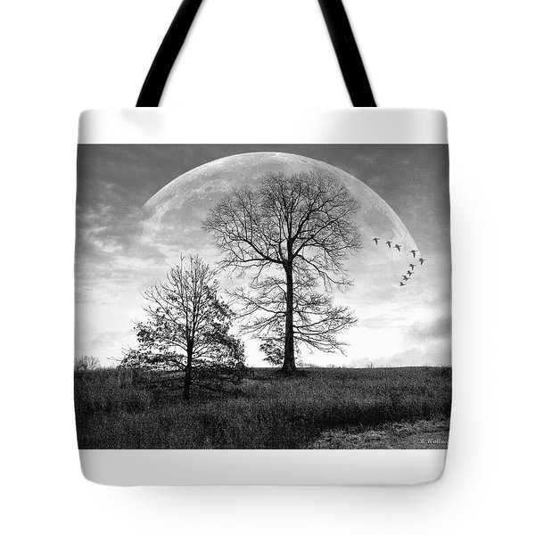 Moonlit Silhouette Tote Bag by Brian Wallace