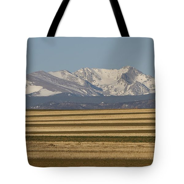 Moons Set On The Colorado Plains Tote Bag by James BO  Insogna