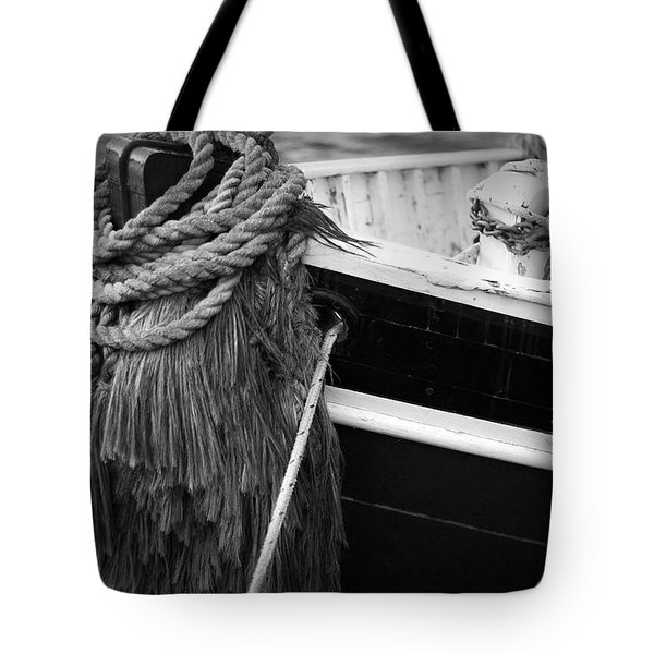 Moored Tote Bag by Eric Gendron