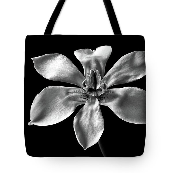 Tote Bag featuring the photograph Morea In Black And White by Endre Balogh