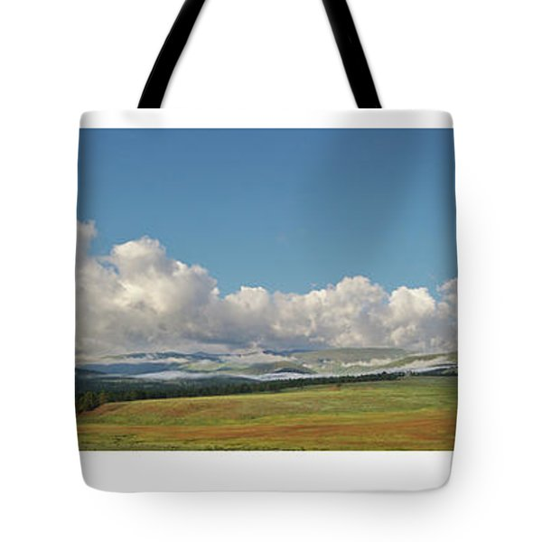 Moreno Valley Clouds Tote Bag