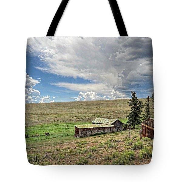 Moreno Valley Ranch Tote Bag