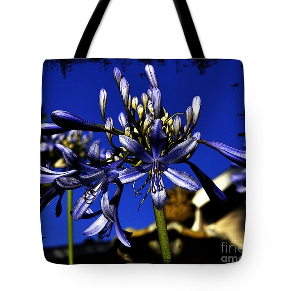 Tote Bag featuring the photograph Morning Blooms by Clayton Bruster