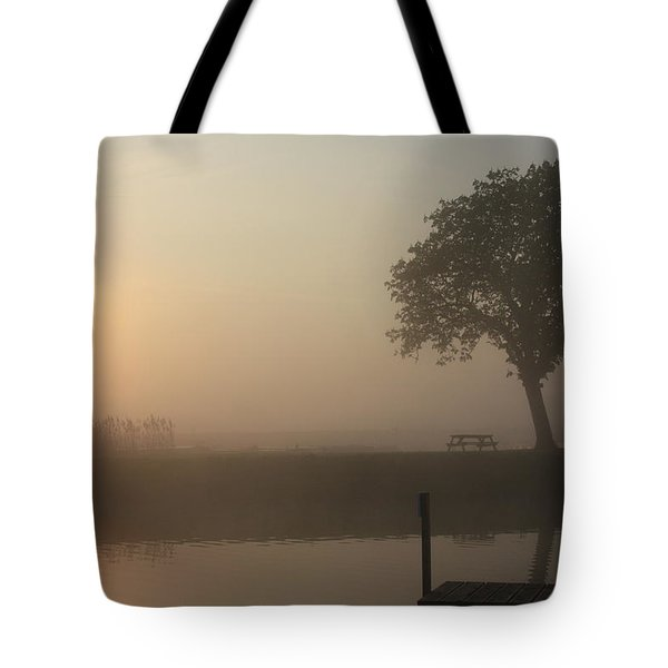 Morning Calm Tote Bag by Linsey Williams