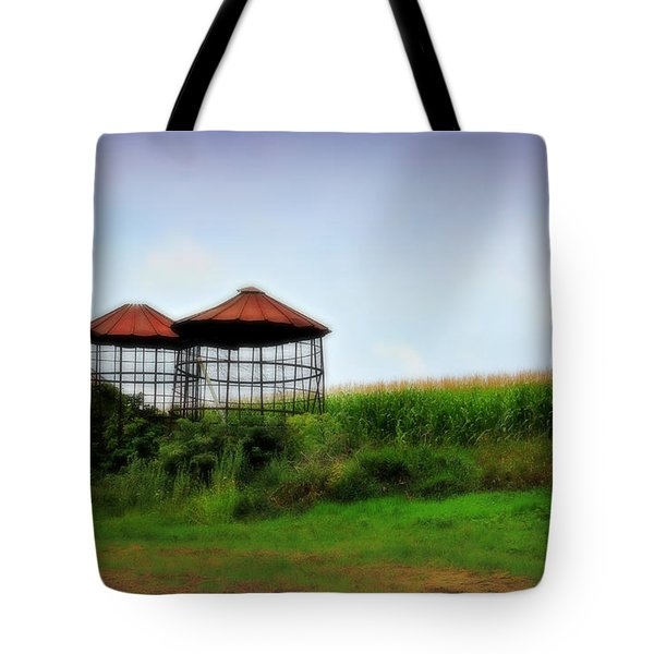 Morning Corn Tote Bag by Perry Webster
