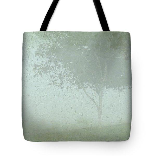 Morning Fog Tote Bag by Judi Bagwell