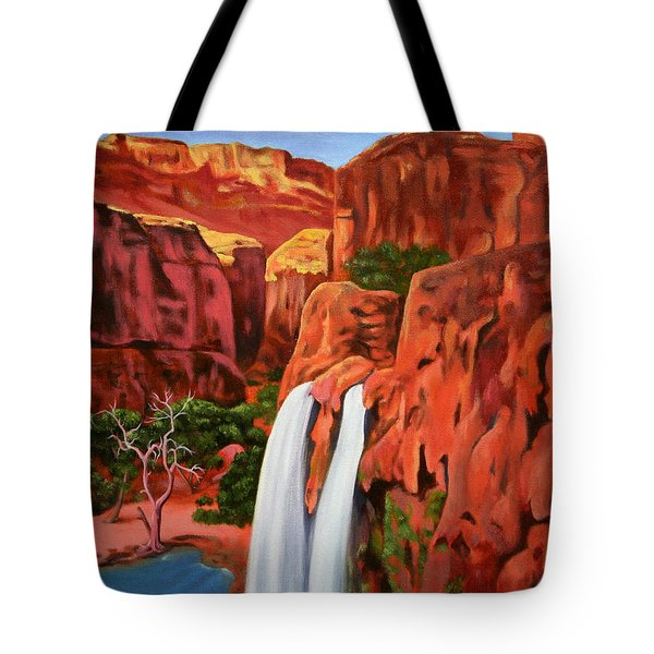 Morning In The Canyon Tote Bag