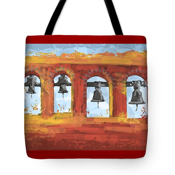 Morning Mission Bells Tote Bag