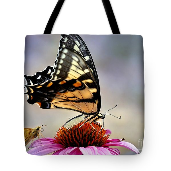 Tote Bag featuring the photograph Morning Snack by Nava Thompson