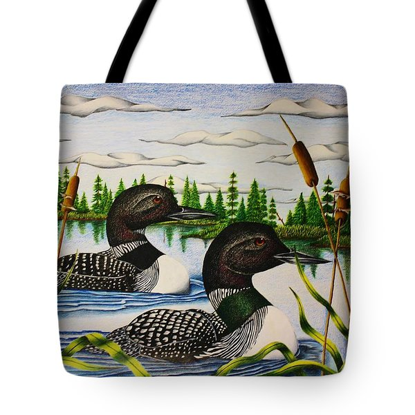 Morning Swim Tote Bag by Bruce Bley
