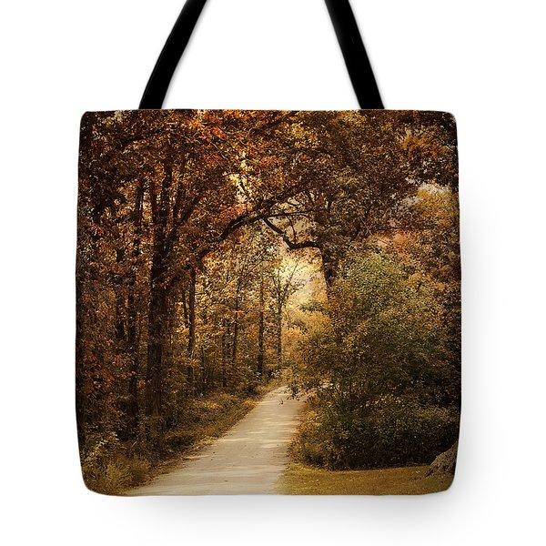 Morning Walk Tote Bag by Jai Johnson