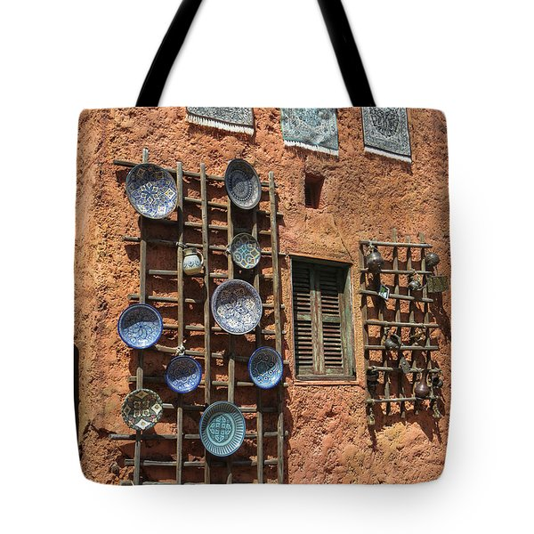 Moroccan Marketplace Tote Bag