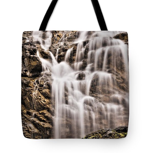 Tote Bag featuring the photograph Morrell Falls 1 by Janie Johnson