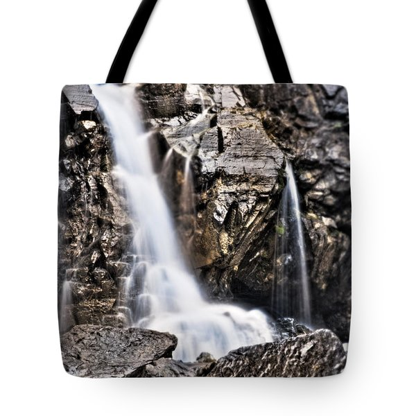 Tote Bag featuring the photograph Morrell Falls 2 by Janie Johnson