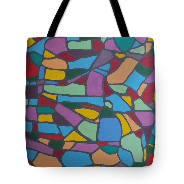 Mosaic Journey Tote Bag