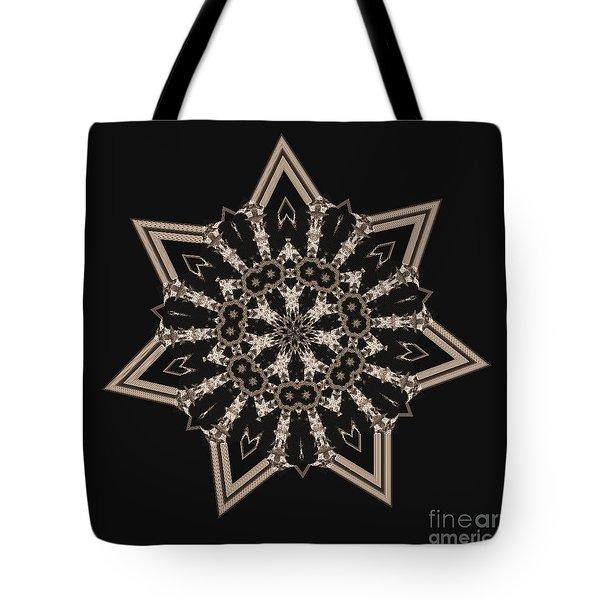 Mosaic Work Of Sepia Art  Tote Bag