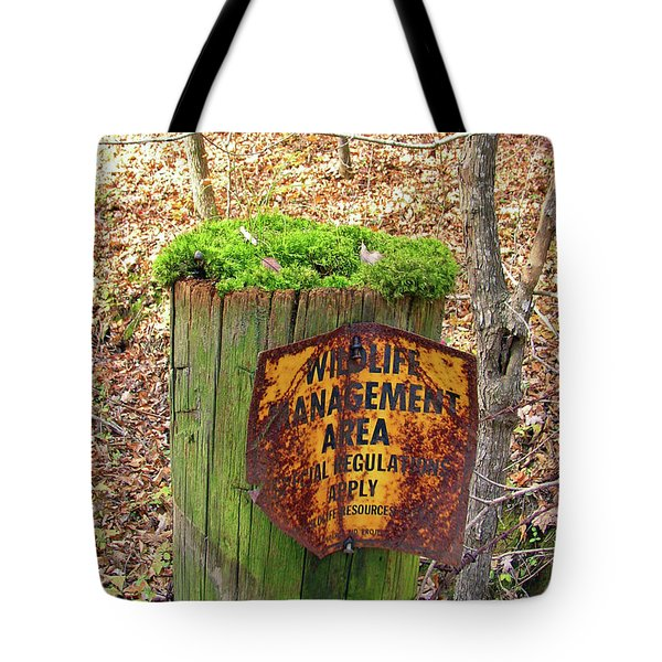 Tote Bag featuring the pyrography Moss Hair by Paul Mashburn