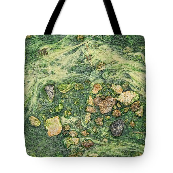 Tote Bag featuring the photograph Moss Mustache  by Britt Runyon