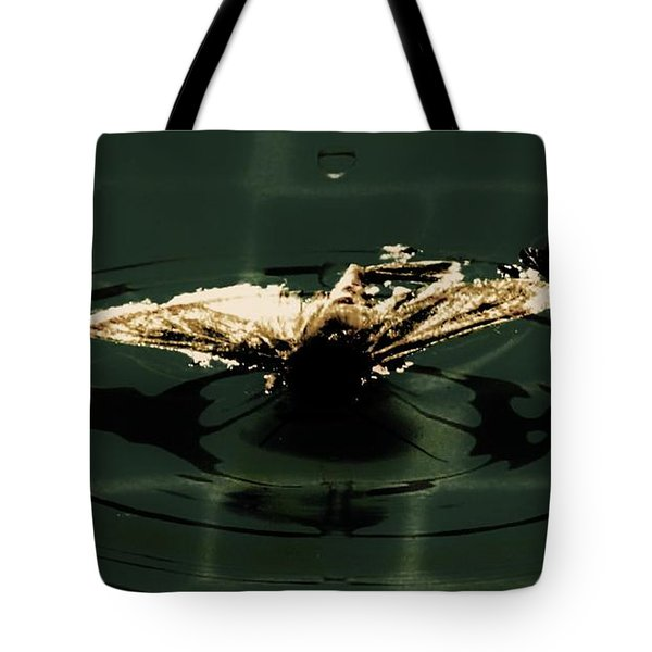 Tote Bag featuring the photograph Moth Ripples by Jessica Shelton