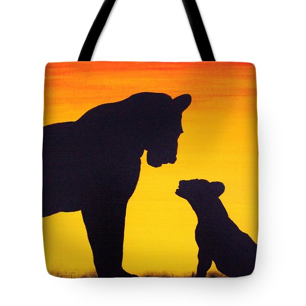 Mother Africa 3 Tote Bag by Michael Cross