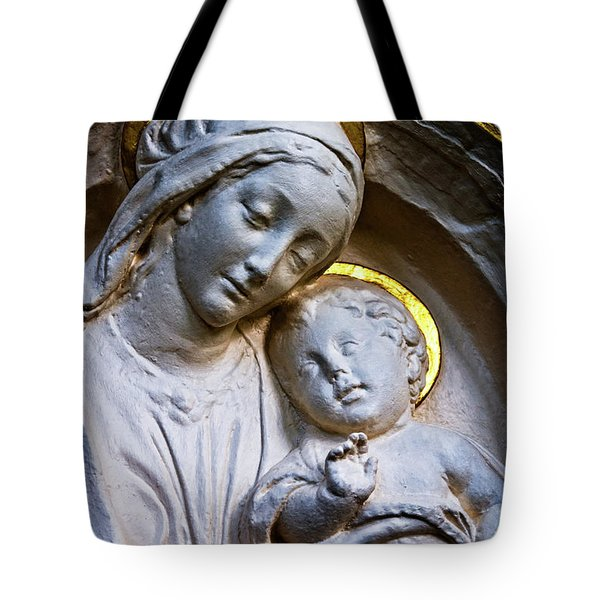 Mother And The Son Tote Bag by Christopher Holmes