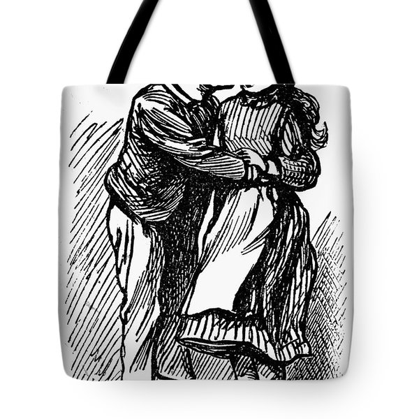 Mother Goose: Kiss Tote Bag by Granger