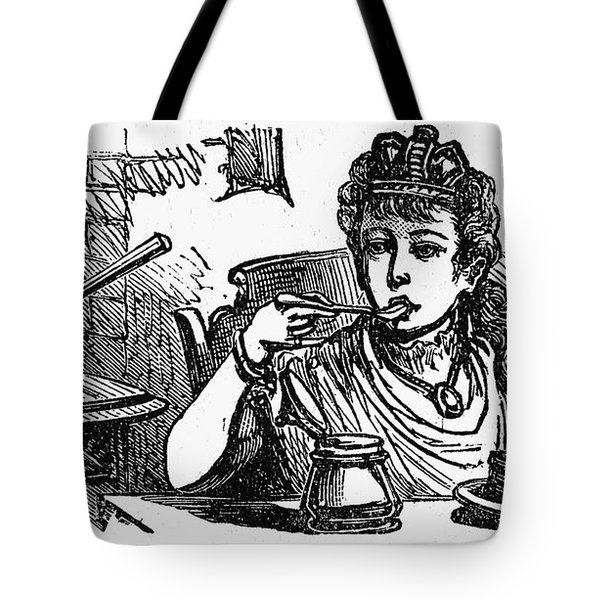 Mother Goose: Queen Tote Bag by Granger