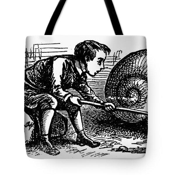 Mother Goose: Snail Tote Bag by Granger