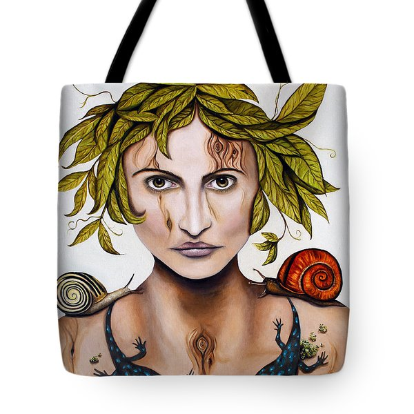 Mother Nature Deep Contrast Tote Bag