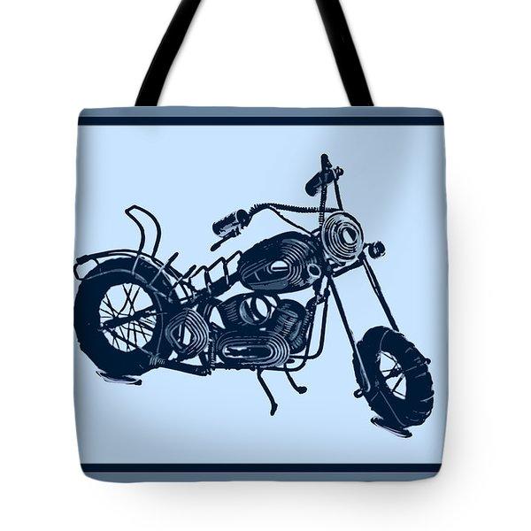Motorbike 1a Tote Bag by Mauro Celotti