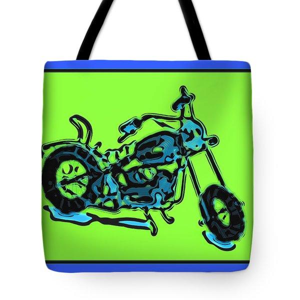 Motorbike 1c Tote Bag by Mauro Celotti