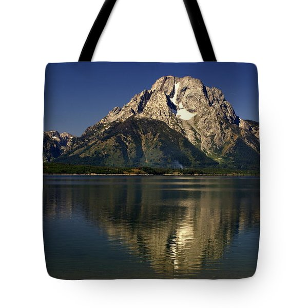 Tote Bag featuring the photograph Moujnt Moran 5 by Marty Koch