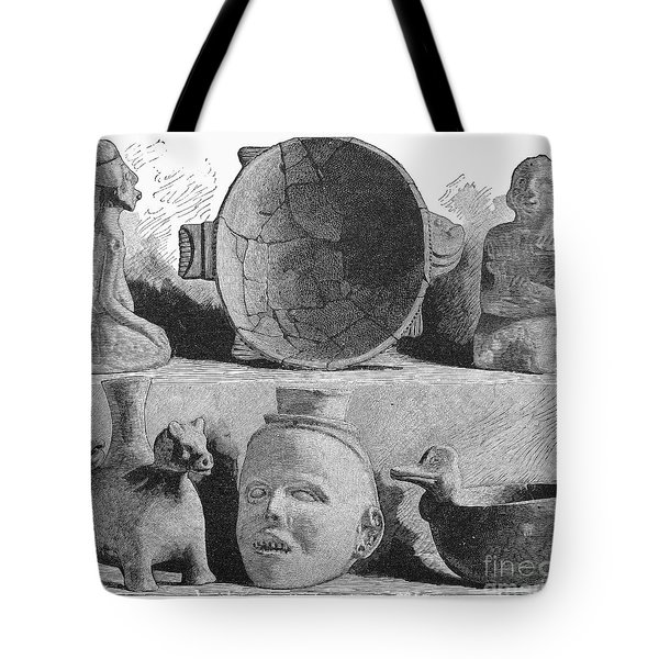 Mound Builders: Pottery Tote Bag by Granger
