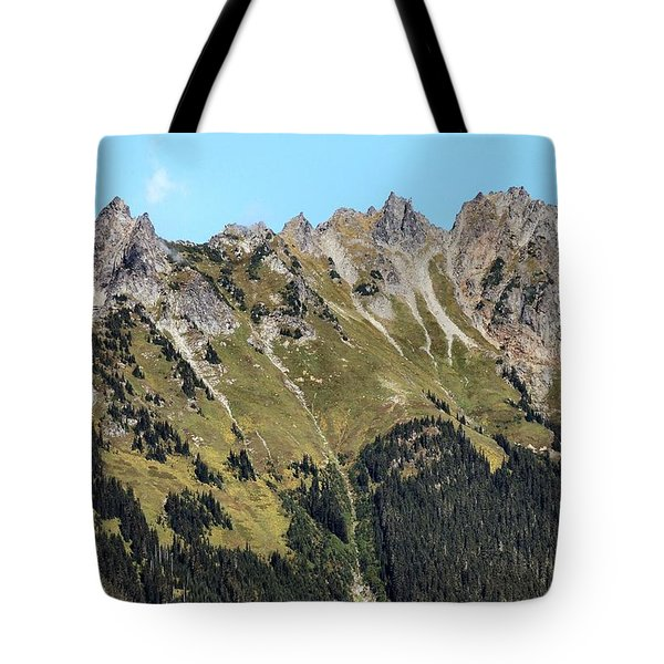 Mount Baker National Forest Tote Bag