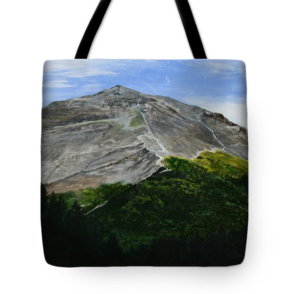 Mount Marathon  Tote Bag by Betty-Anne McDonald