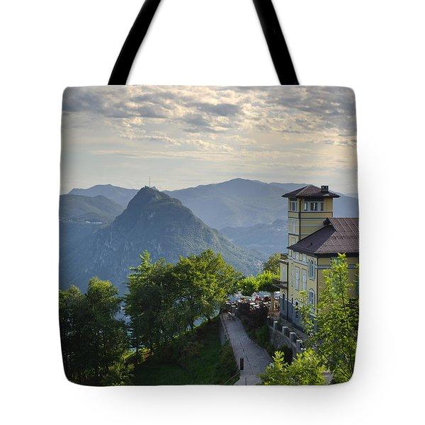 Mountain Bre Tote Bag