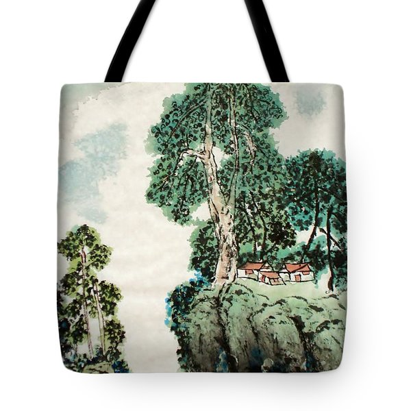 Mountain Dream Tote Bag