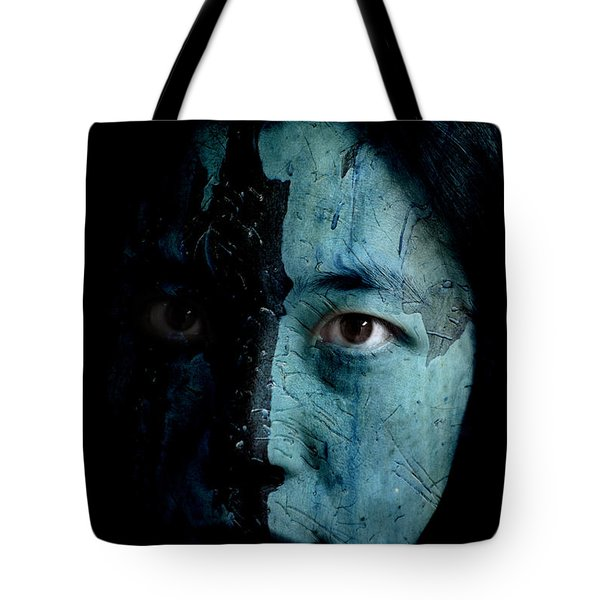Mountain Dweller Tote Bag by Christopher Gaston