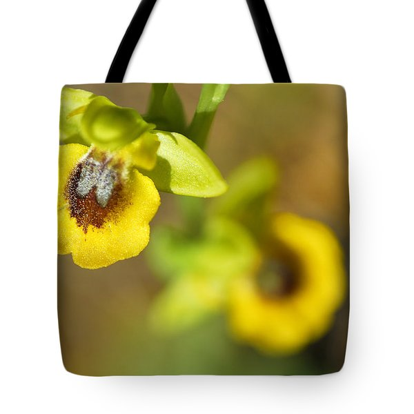 Mountain Orchids Tote Bag by Guido Montanes Castillo