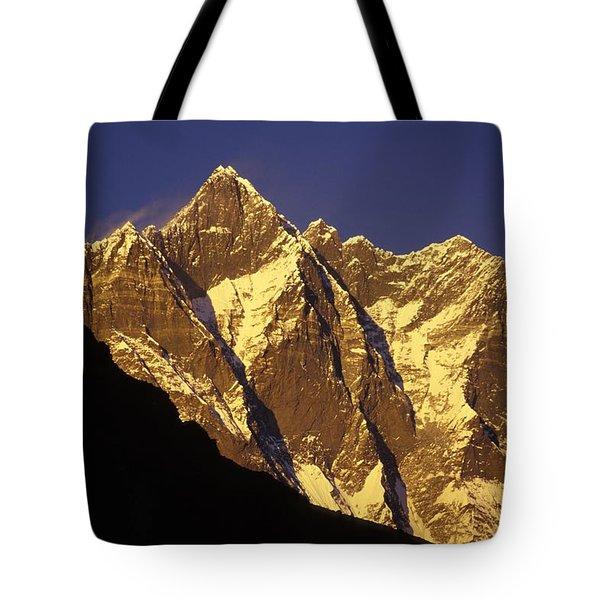 Mountain Peaks Tote Bag by Sean White