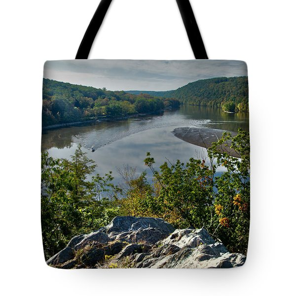 Mountain View Tote Bag by Karol Livote
