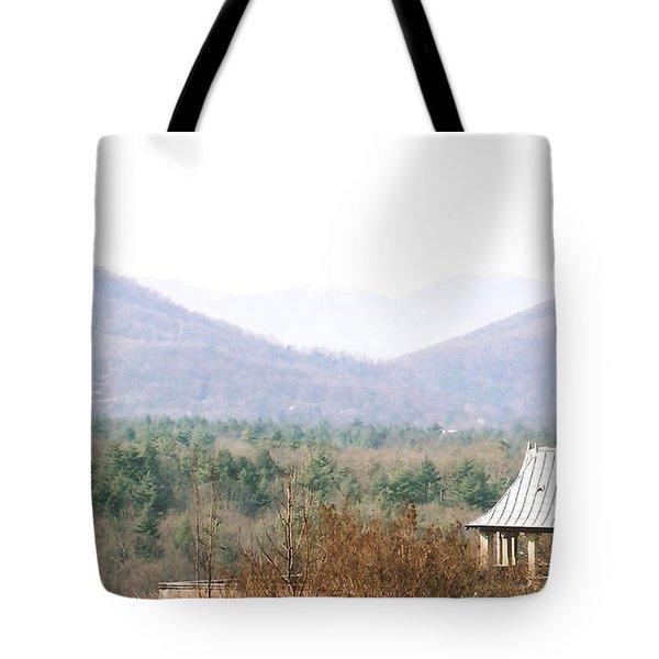 Mountains At Biltmore Tote Bag