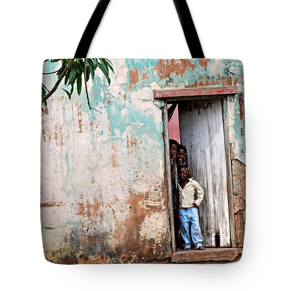 Mozambique - Land Of Hope Tote Bag by Christopher Gaston