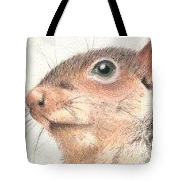 Mr. Squirrel - Aceo Tote Bag