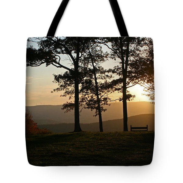 Mt Pisqah Sunset 2 Tote Bag