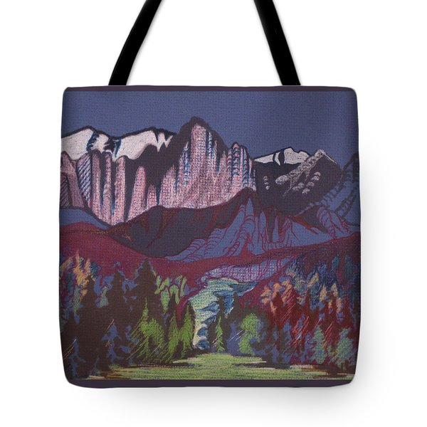 Mt Whitney Tote Bag by Barbara Prestridge
