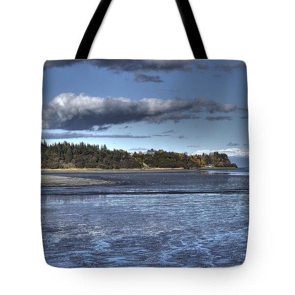 Mud Bay  Tote Bag by Michele Cornelius