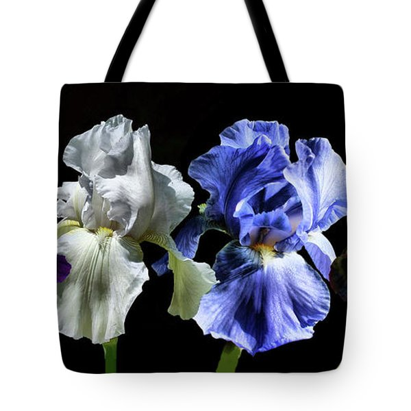 Tote Bag featuring the photograph Multi Iris by Rick Friedle