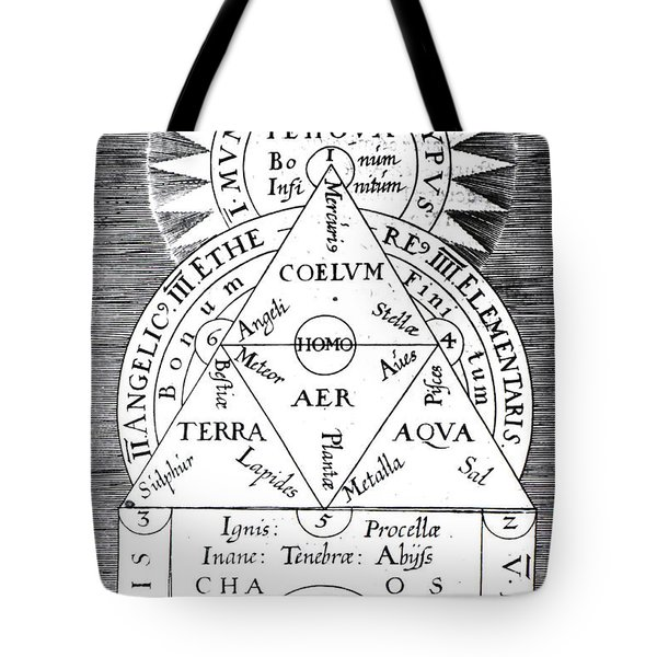 Mundus Archetypus, Archetypal World Tote Bag by Science Source