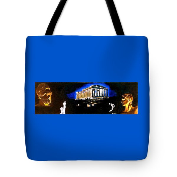 Mural - Night Tote Bag